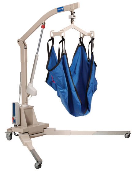 Maxi Care Bariatric Lift elevated