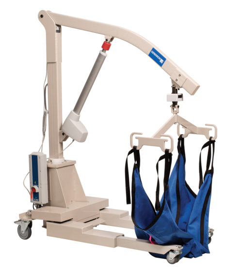 Maxi Care Bariatric Lift lowered