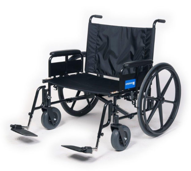 Regency 525 wheelchair fixed back