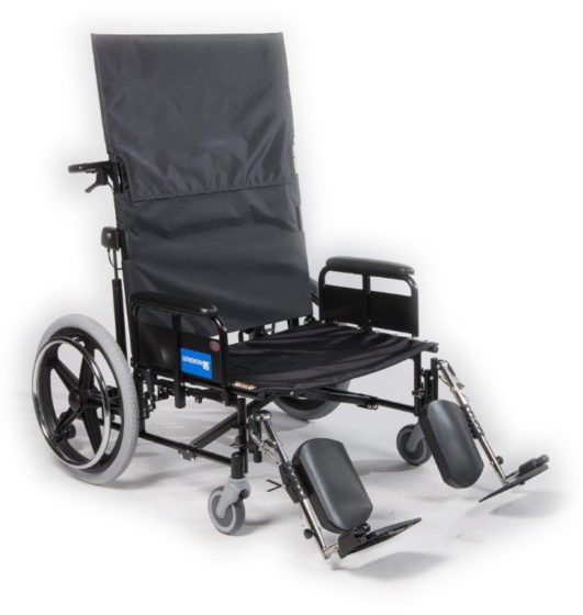 Regency 525 reclining wheelchair front
